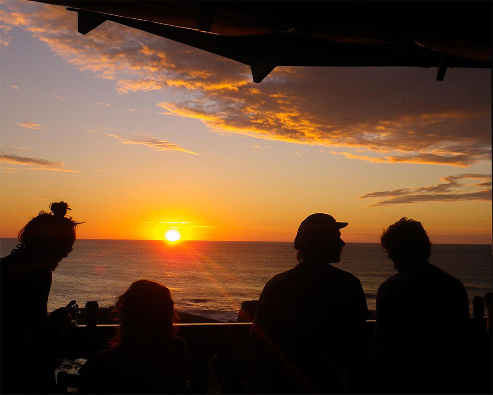Restaurant With a Sunset View in Nicaragua