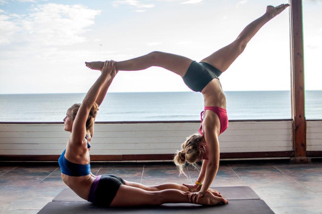 Nicaragua Yoga Stretching