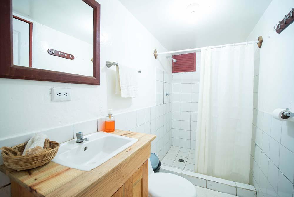 Tiki Room Bathroom